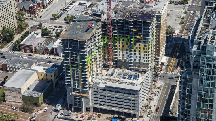 Crane Watch An interactive map on Tampa Bay development and