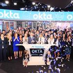 Okta shares soar nearly 39 percent in first day of trading