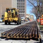 Streetcar becoming reality as rails assembled ahead of installation: Slideshow