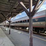 As Raleigh-Charlotte rail work progresses, N.C. receives new trains