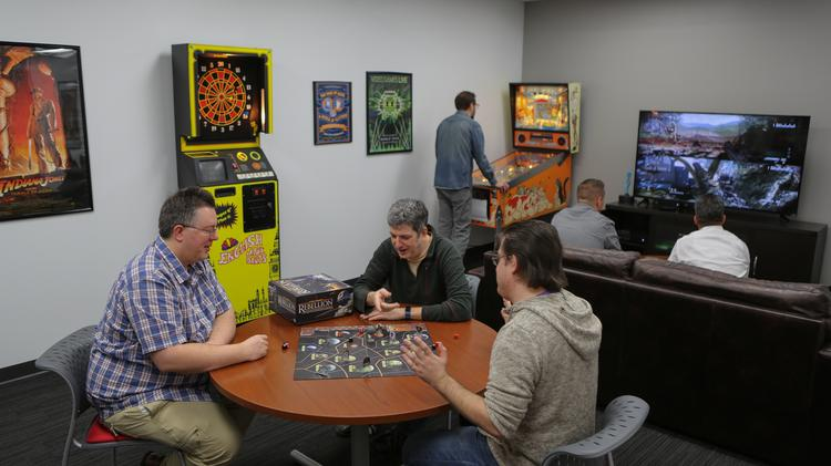 Milwaukee\'s Coolest Offices: Game room, cafe part of SafeNet ...