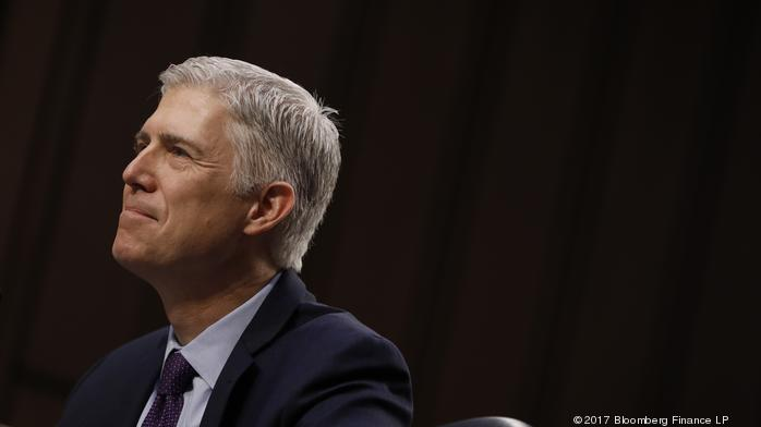 Law: Gorsuch hears student's travel ban essay