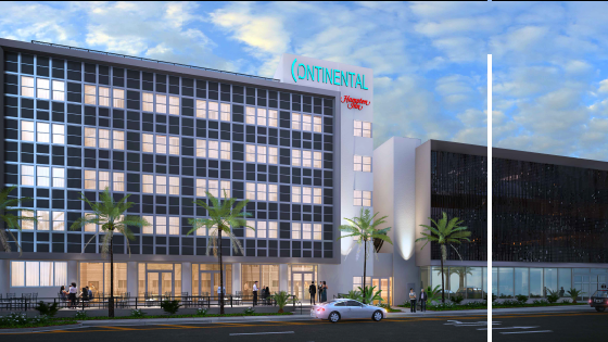 The Continental Hotel Miami Beach At 4000 Collins Avenue Is Building A Retail And Parking Garage