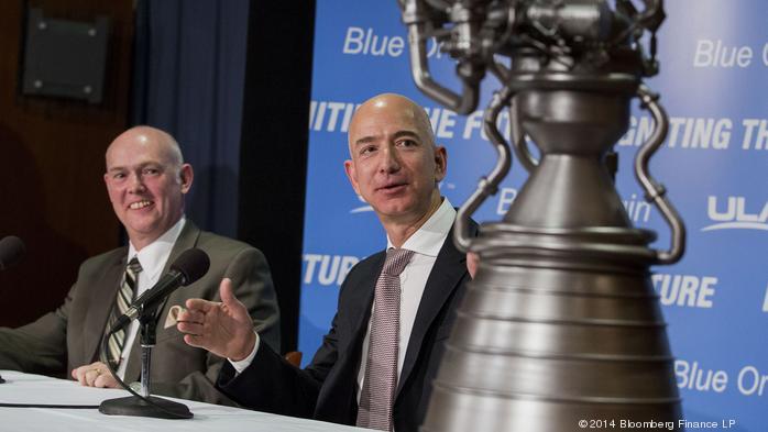 Bezos' Blue Origin to build rocket engines near ULA plant in Alabama — not Florida