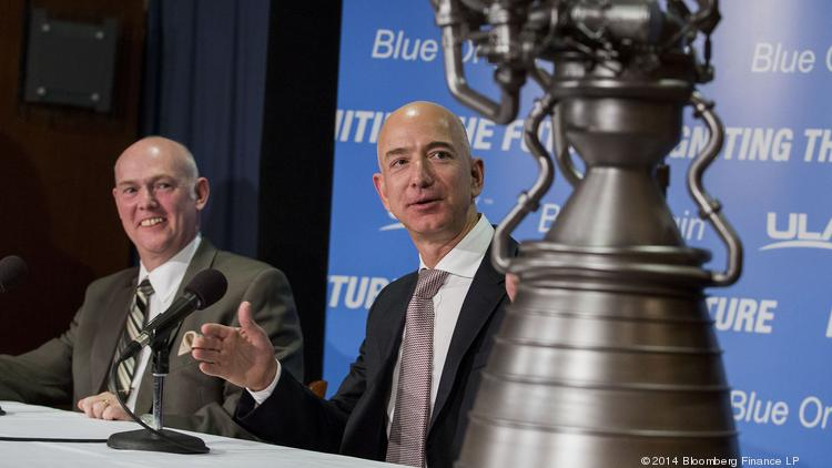 Amazon founder Bezos' Blue Origin to build rocket engines ...