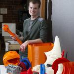 3-D printing: America's (and the Triad's) next top manufacturing model (Video)