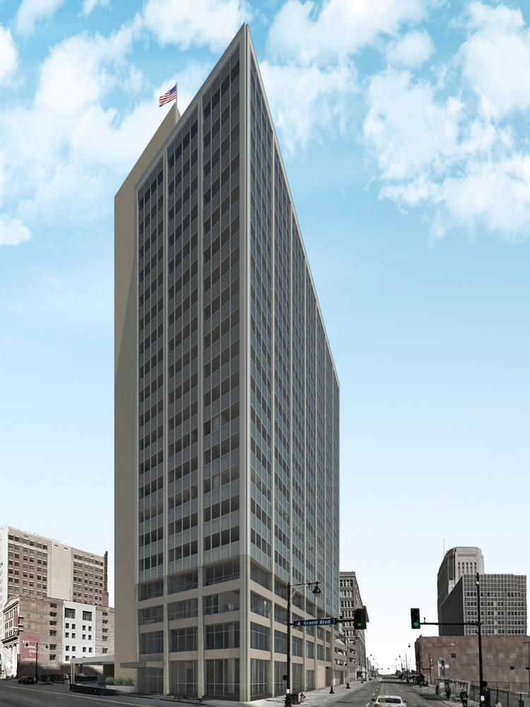 The renovation of Traders on Grand will feature a James Bond-era theme that will pay homage to the building's original mid-century modern architecture while providing a sleek, cutting-edge look.