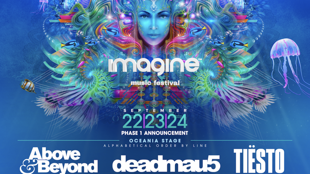 b367a36fd Imagine Music Festival taps Deadmau5, Tiësto, Pretty Lights Live for ...