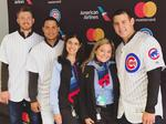 American Airlines eliciting smiles with Cubs' star Anthony Rizzo as greeter