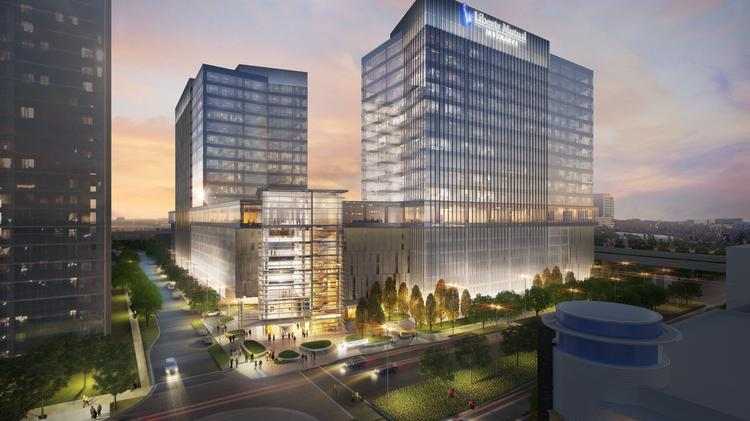 Liberty Mutual Insurance has topped out on its 1.1 million-square-foot regional hub in Plano.