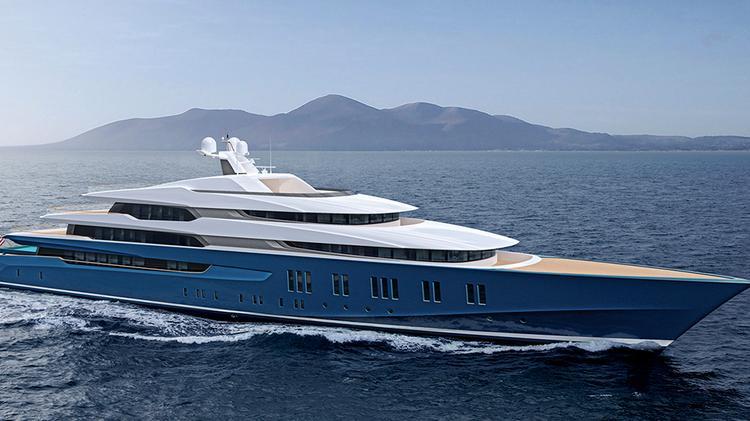 Megayacht Sherpa, valued at $120M, arrives in Seattle