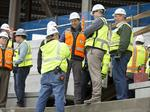 Bill to give Texas construction workers mandatory breaks faces opposition from builders group