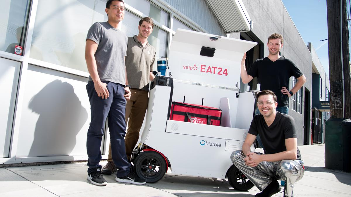 Doordash Marble Team Up To Test Robotic Delivery Through