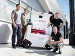 Robots roll out to deliver food in San Francisco