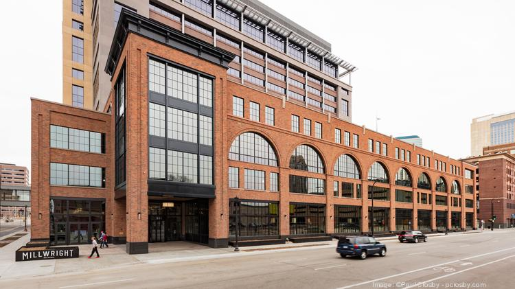 A view of the Millwright, Ryan's $30 million office building at 533 S. Third St.