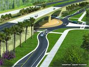 A new image of the 25-mile, $1.6 billion Wekiva Parkway project