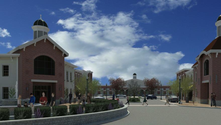 shoppes at northgate centre taking shape near tanger outlets columbus columbus business first. Black Bedroom Furniture Sets. Home Design Ideas