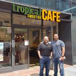 For this Syrian immigrant, the American dream equals smoothies