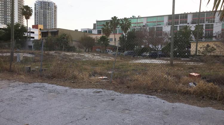 Del Villar site in the Channel district