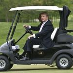 Local executives grade their play on — and political perils of — <strong>Trump</strong>'s local golf club