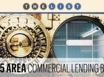 Top of the List: Commercial Lending Banks