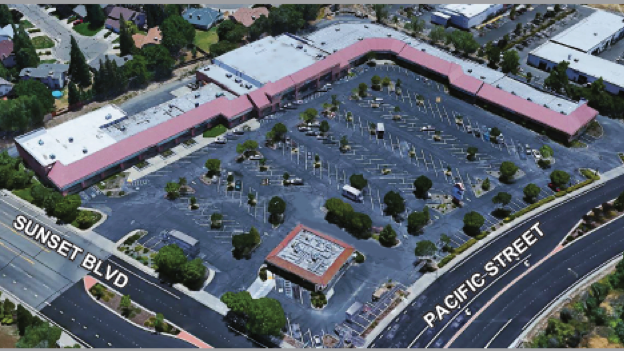 Ethan Conrad has acquired Sunset Plaza in Rocklin.