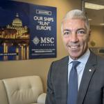 MSC Cruises USA's Roberto Fusaro on leading by example