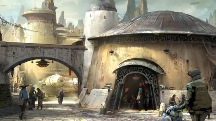 Part of Yoda's world you may be in Disney's new Star Wars land