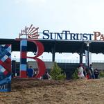 SunTrust Park to add 61 EV charging stations, charging island