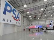 PSA Airlines opened a new 77,000-square-foot maintenance hangar at Dayton International Airport last fall.