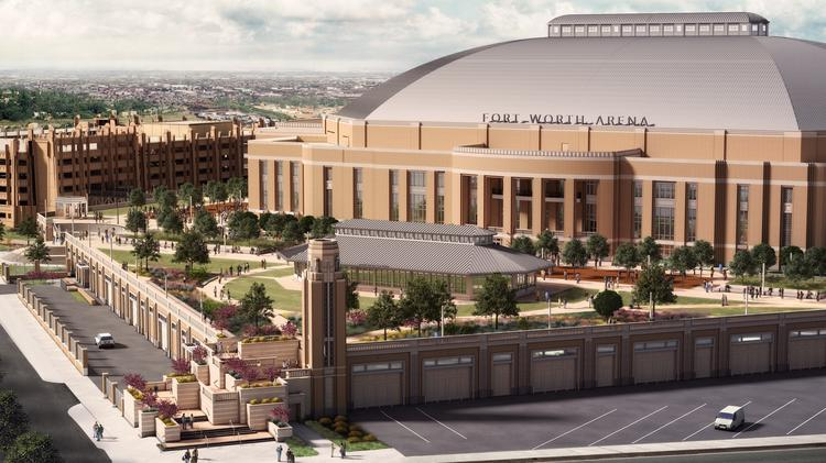 The Fort Worth Arena is a public-private partnership and will bring a 14,000-seat venue to this part of the region.