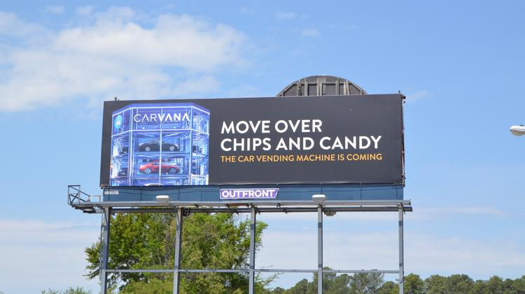 A Car Vending Machine Carvana Building 25m Project In Raleigh