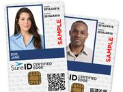 A sample of SureID's product aimed at nonprofits.