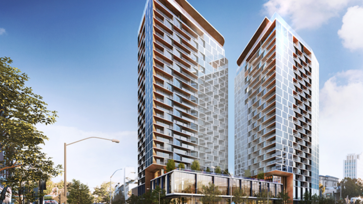 Attirant San Jose Crane Watch Update: Fifth Highrise Development To Break Ground In  Downtown   Silicon Valley Business Journal