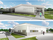 Rendering of Goose Creek CISD's new agriscience center in Baytown.