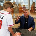 CLT fans hear tales of brawls, Braves with Chipper Jones