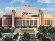 The new arena is slated to be open in 2019.