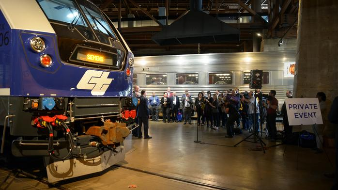 Capitol Corridor is first to get Sacramento-made modern locomotive (Photos)