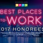 BBJ announces the 2017 Best Places to Work honorees