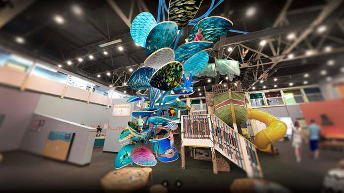 Rays star donates $500,000 for climbing exhibit at children's museum