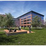 OhioHealth HQ design 'bringing the outside in' and creating outdoor meeting space to promote wellness (Video)