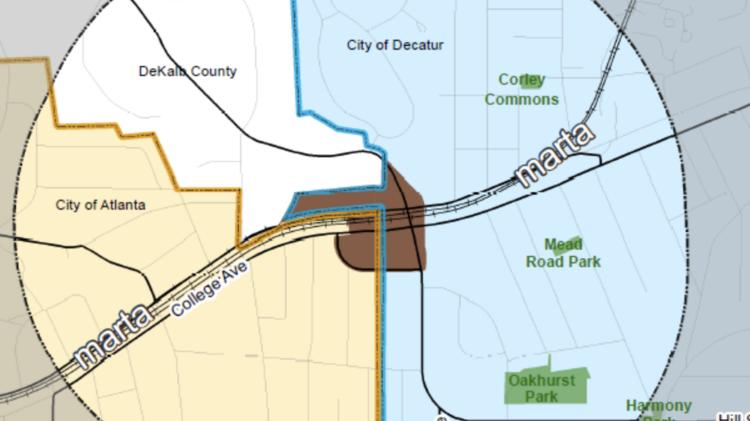 Decatur To Master Plan East Lake Marta Station Area Atlanta