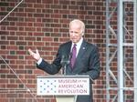 Joe Biden calls for unity as Museum of the American Revolution finally opens