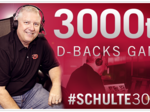 Arizona Diamondbacks announcer to call 3,000th game
