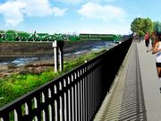 A rendering of the Gravous Greenway (Grant's Trail) at River Des Peres near South County.