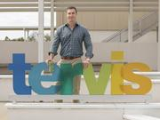 Tervis Tumblers President Rogan Donelly poses outside of the company's headquarters in North Venice.