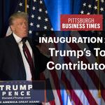SLIDESHOW: See who from Pennsylvania donated to Trump inauguration