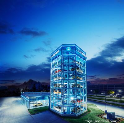 carvana opens its fifth car vending machine phoenix business journal. Black Bedroom Furniture Sets. Home Design Ideas