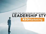 ​Advantages of switching among leadership styles
