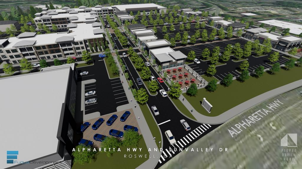 ... With A New Grocery Store, Shops, Restaurants And Approximately 300  Apartments. Fuqua Development Is Proposing The Mixed Use Project At ...